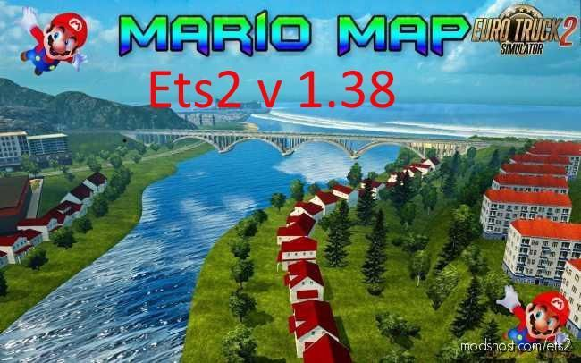 Mario Map Base [1.38] for Euro Truck Simulator 2