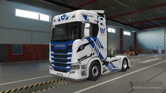 Lollivan Scania S Highline 2016 for Euro Truck Simulator 2