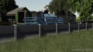 Concrete Fences for Farming Simulator 19