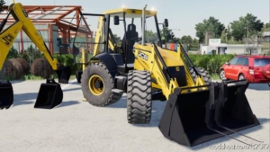JCB 3CX & 4CX Pack for Farming Simulator 19