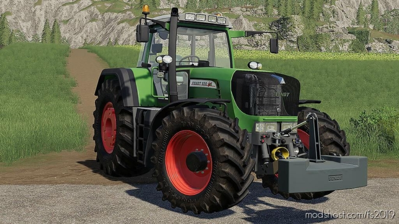 Fendt 900 TMS Vario V1.5 for Farming Simulator 19