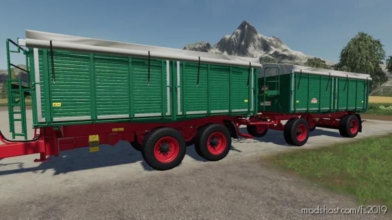 Tiemann Argroliner Pack V1.0.1.2 for Farming Simulator 19