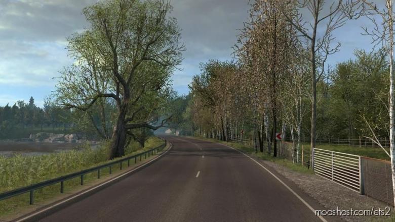 Late Autumn/Mild Winter V3.7 for Euro Truck Simulator 2