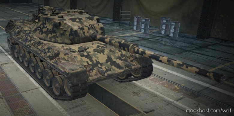 Digital – Camo [1.9.1.2] for World of Tanks