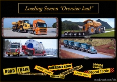 Loading Screen Oversize Load for American Truck Simulator