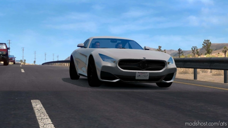 GTA V Traffic Pack [1.37 – 1.38] for American Truck Simulator