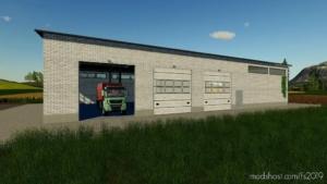 Large Machine Hall for Farming Simulator 19