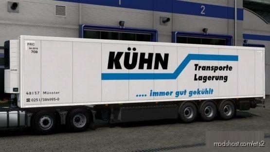 KüHN Transport & Lagerungsgesellschaft Trailer for Euro Truck Simulator 2