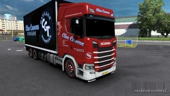 BDF Tandem Clive Cowern for Euro Truck Simulator 2