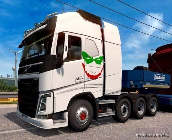 Volvo Joker Version [1.37 – 1.38] for Euro Truck Simulator 2