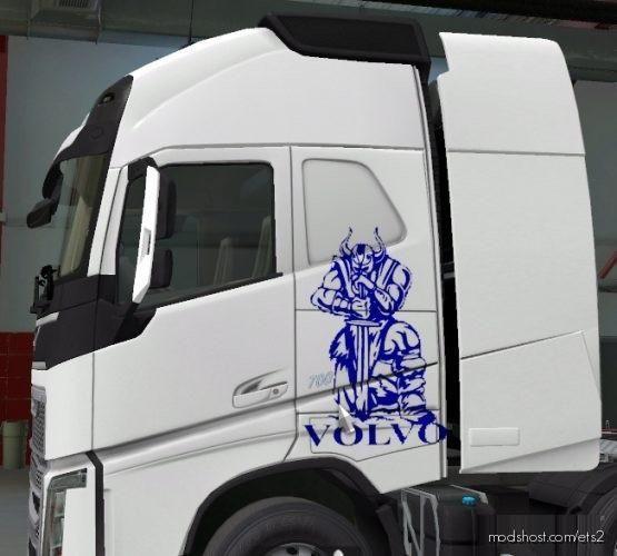 Volvo Skin Truck [1.37] for Euro Truck Simulator 2