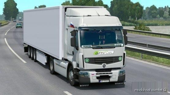 Renault Premium Reworked V4.9 [Schumi] [1.38] for Euro Truck Simulator 2