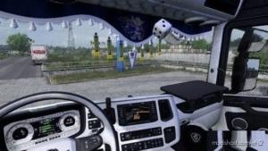Scania Nextgen Grey Interior V8 for Euro Truck Simulator 2