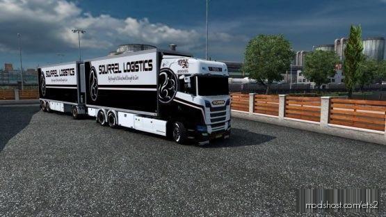 BDF Tandem Squirrel Logisitcs for Euro Truck Simulator 2