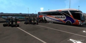 Passenger Mod For Map And DLC [1.38] for Euro Truck Simulator 2