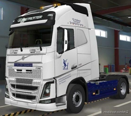 YSH Rental Volvo 2012 Skin for Euro Truck Simulator 2