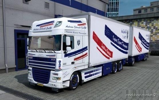 BDF Tandem Andreas for Euro Truck Simulator 2