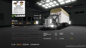 Round Cotton Module Truck for Farming Simulator 19