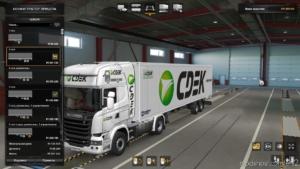 Sdec For Scania Streamline And Trailers for Euro Truck Simulator 2