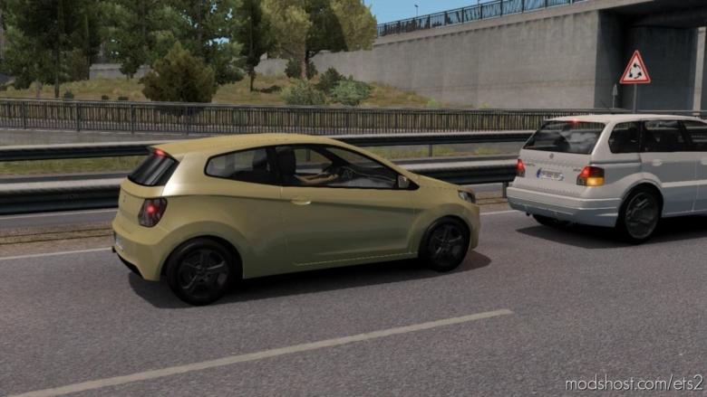 Fictional Cars Traffic Pack [1.38] for Euro Truck Simulator 2