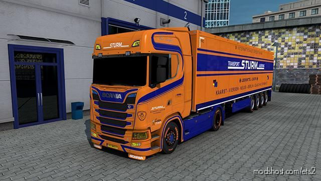 Sturm Transport Skin for Euro Truck Simulator 2