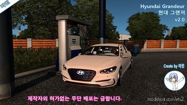 Hyundai Grandeur V2.0 for Euro Truck Simulator 2