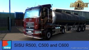 Sisu R500, C500, C600 V1.2.2 [1.38.X] for Euro Truck Simulator 2
