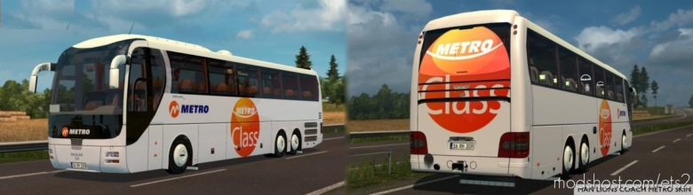 MAN Lion Coach [1.37 – 1.38] for Euro Truck Simulator 2