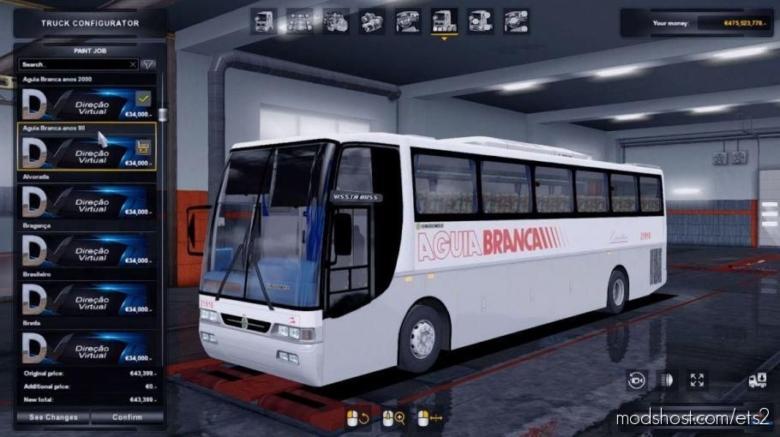 Busscar Vissta BUS 1999 4×2 [1.37 – 1.38] for Euro Truck Simulator 2
