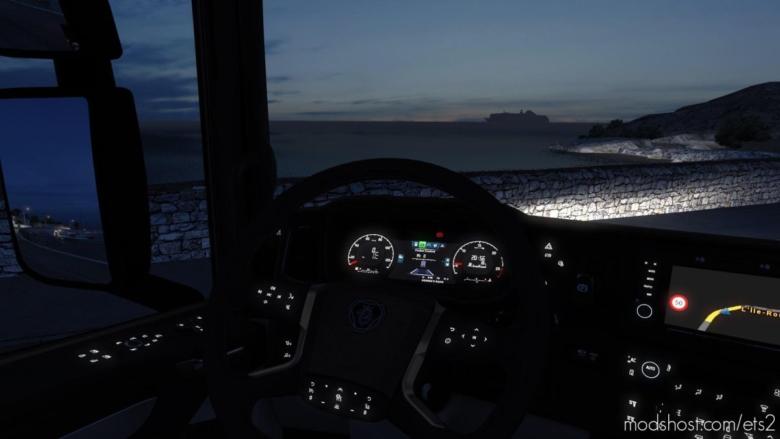 Scania Next GEN Gauges [1.38] for Euro Truck Simulator 2