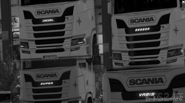 Light Pack Logo [1.38] for Euro Truck Simulator 2