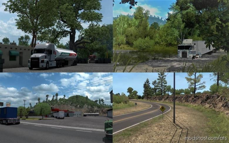 Honduras Western Map [1.38] Standalone Map for American Truck Simulator