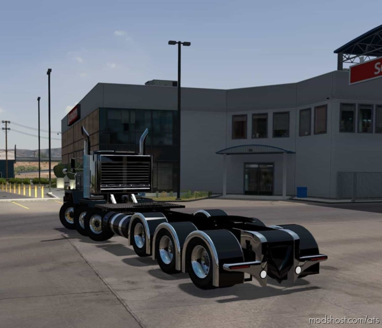 Kenworth C500 Custom Truck Fixed [1.38] for American Truck Simulator