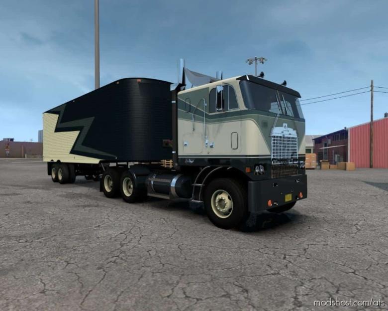 Fruehauf Dryvan 1951 V2.1 [1.38] for American Truck Simulator