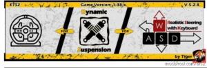 Dynamic Suspension V5.2.8 [1.38] for Euro Truck Simulator 2