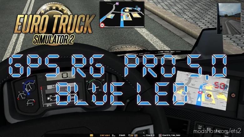 GPS RG PRO Blue LED V5.0 for Euro Truck Simulator 2