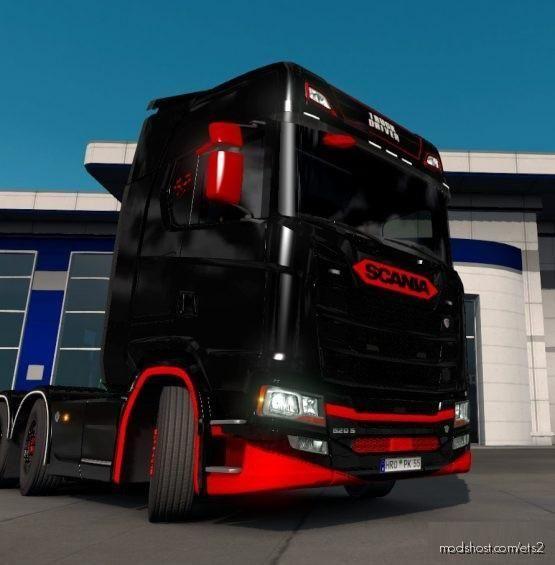 Trucker Scania Skin [1.35 – 1.38] for Euro Truck Simulator 2