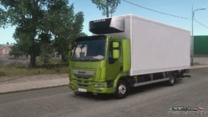 DAF LF Truck [1.35 – 1.37] for American Truck Simulator