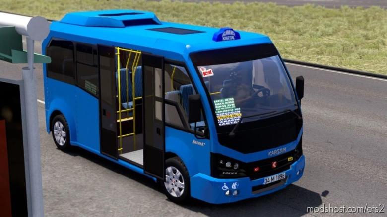 Karsan Jest V1.1R40 [1.38] for Euro Truck Simulator 2