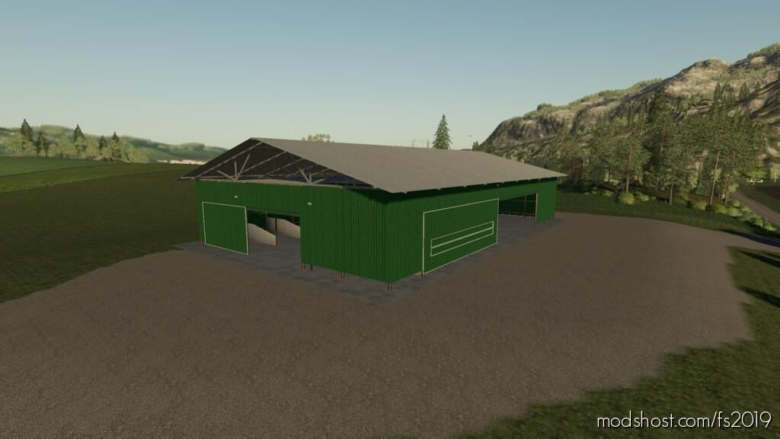 Large Pole Barn for Farming Simulator 19