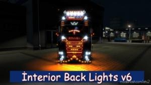 Interior Back Lights V6 [1.38] for Euro Truck Simulator 2