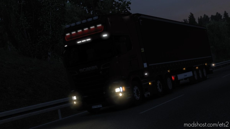 Realistic Headlights V2.1 for Euro Truck Simulator 2