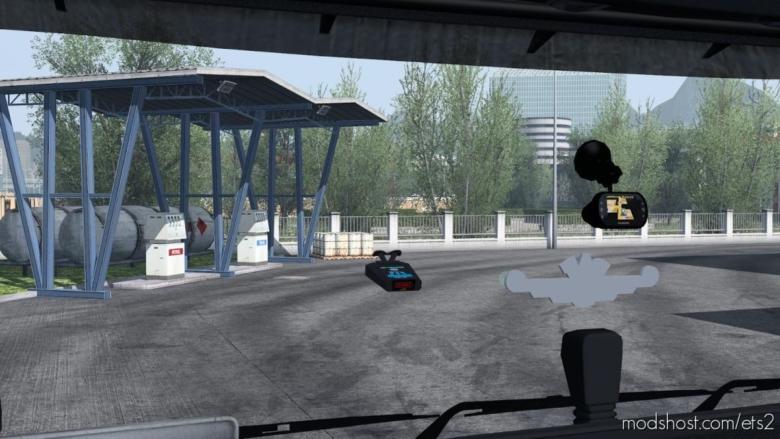 Radar Detector V1.4 [1.38] for Euro Truck Simulator 2