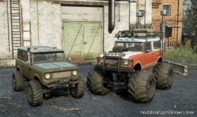 """Memespec Scout 800 """"Puddlejumper"""" M181 for SnowRunner"""