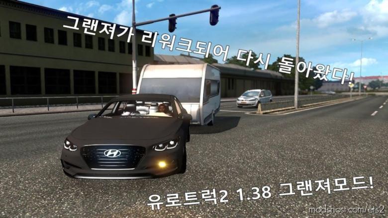 Hyundai Azera Reworked for Euro Truck Simulator 2