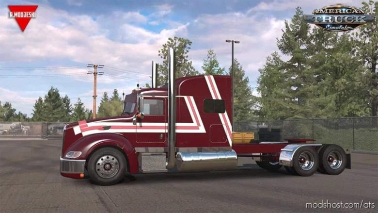 Peterbilt 386 Truck + Interior V1.5 [1.38.X] for American Truck Simulator