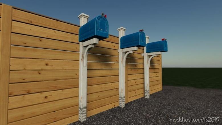 Mailbox (Prefab) for Farming Simulator 19