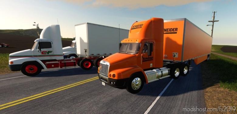Freightliner Century DAY CAB for Farming Simulator 19
