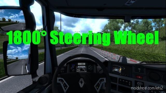 1800 Steering Wheel [1.38.X] for Euro Truck Simulator 2