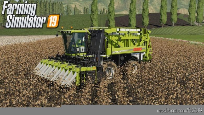 Case Module Express Cotton Harvester for Farming Simulator 19
